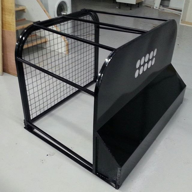 metal buggy rear cage frame