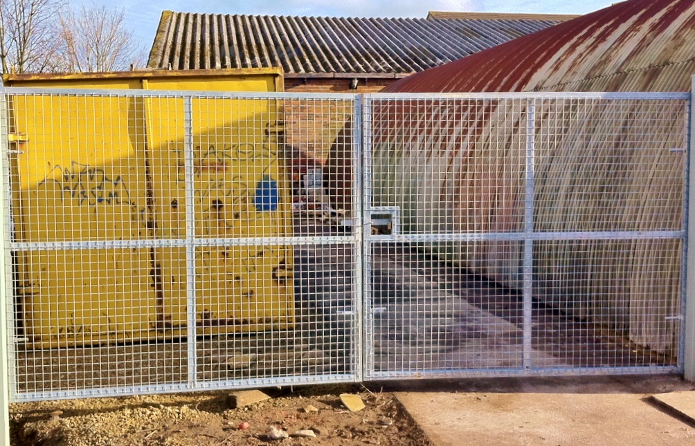 Welded Mesh Security Gates Amp Panels High Quality