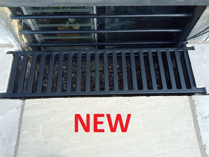 Custom cellar grates lightwell covers