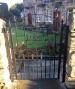Personalised Wrought Iron Gates with lettering / number