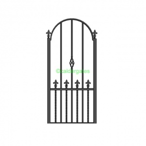Dearne Wrought Iron Metal Side Gates