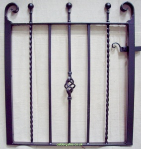 Spen Wrought Iron Garden Gate