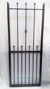Wharfe Wrought Iron Metal Side Gate