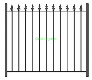 Brook Wrought Iron Railings & Fencing