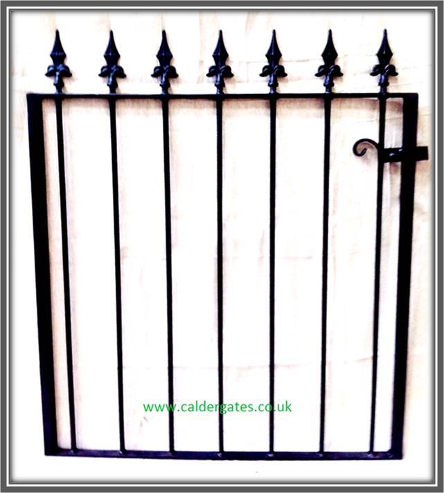 Brook Wrought Iron Metal Garden Gate