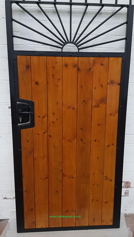 Modern Wooden Gate