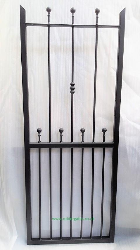 Wharfe Wrought Iron Metal Side Gate