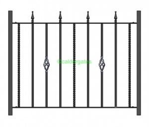 Spen Wrought Iron Railings