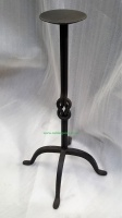 Large Wrought Iron Metal Candle Holder