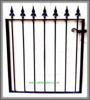 Brook Wrought Iron Garden Gate