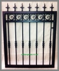 Ribble Wrought Iron Garden Gate