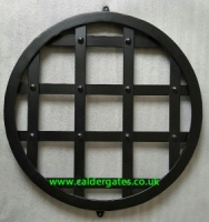 30x30x5mm Wrought Iron Metal Well Cover