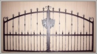 Aire Wrought Iron Estate Gates