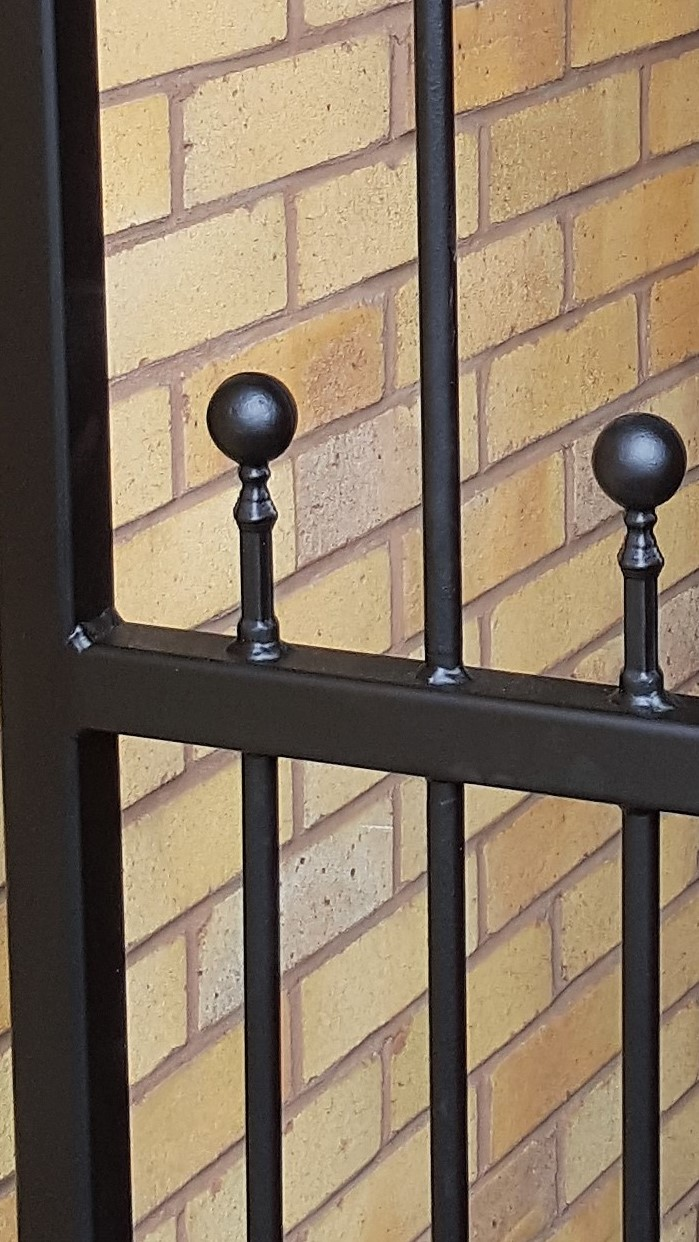 Top quality wrought iron gates
