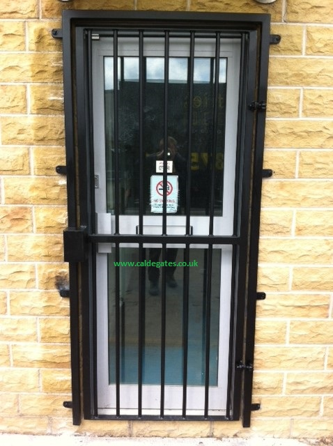 Metal security gates window grilles all sizes available for Tubular window design