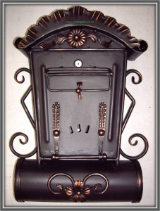 Wrought Iron Metal Letterboxes