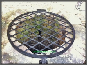 Wrought Iron Metal Well Covers