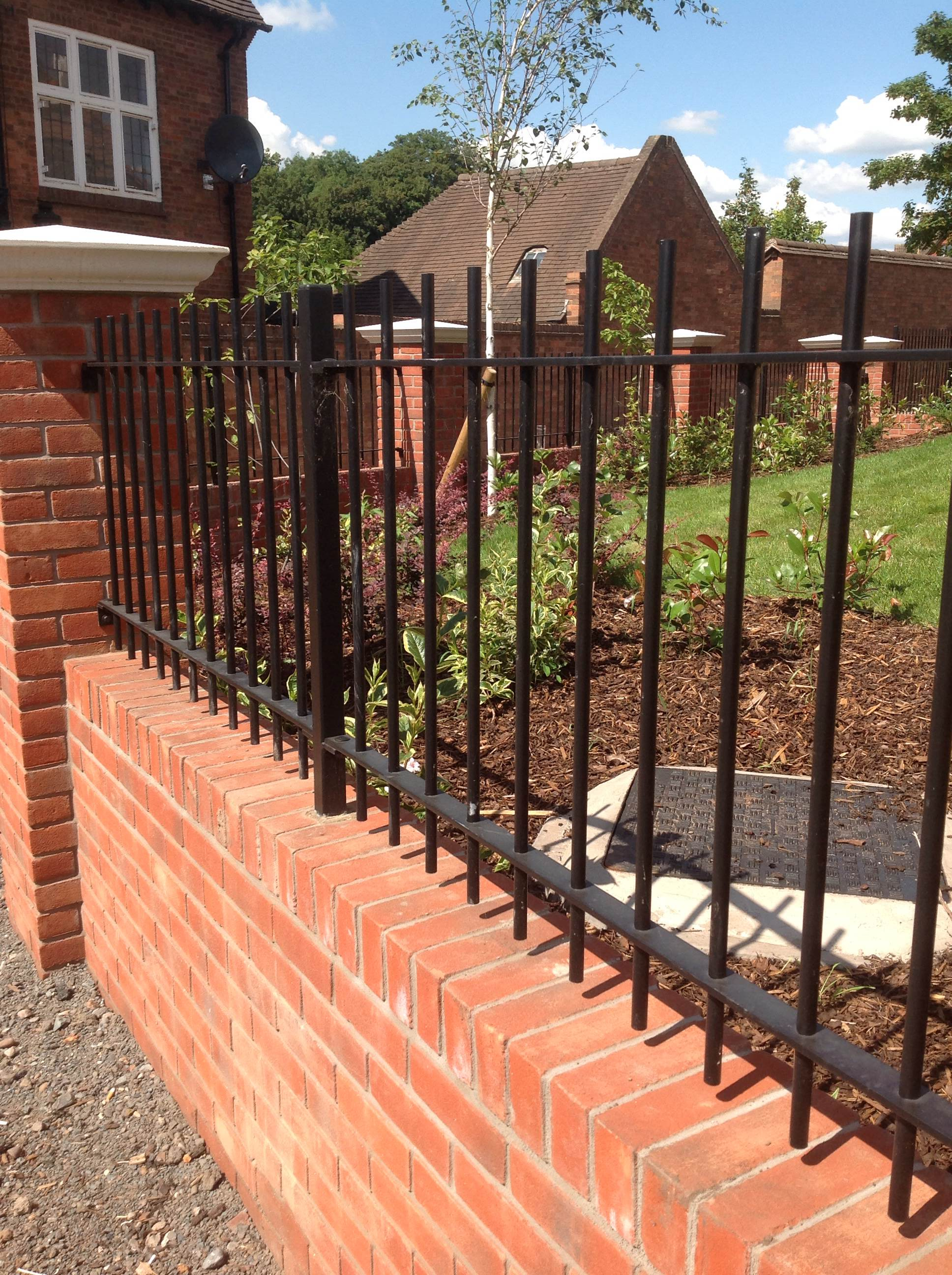 manor wrought iron railings heavy duty