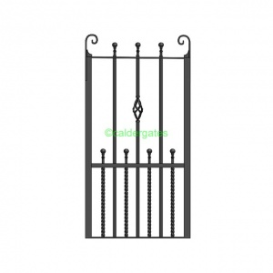 Spen Wrought Iron Metal Side Gate