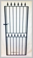 Brook Wrought Iron Metal Side Gate