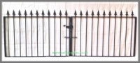Brook Wrought Iron Driveway Gate