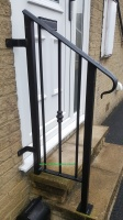 Bespoke Wrought Iron Handrails & Grab Rails