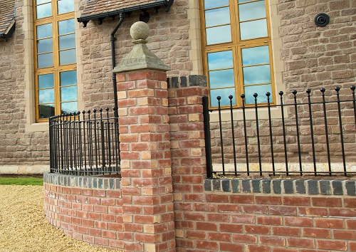 bespoke curved metal railings