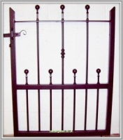 Wharfe Wrought Iron Metal Garden Gate
