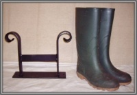 Wrought Iron Metal Shoe / Boot Scraper